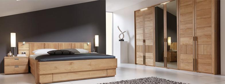 Massivholz Schlafzimmer von InCasa » massivholzmoebel.de ✓
